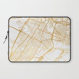 JERSEY CITY NEW JERSEY STREET MAP ART Laptop Sleeve