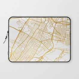 JERSEY CITY NEW JERSEY STREET MAP ART Laptop Sleeve
