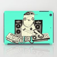 dj iPad Cases featuring DJ  by Mr. JJ