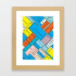 The Burning Rainbow Bridge 143 Framed Art Print