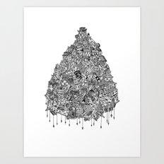 City Drop Art Print