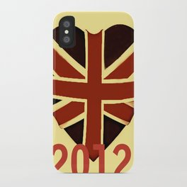 I Love Vintage 2012 iPhone Case