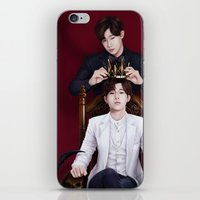 kpop iPhone & iPod Skins featuring King Sunggyu by Nikittysan