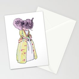 Madame Elephant Stationery Cards