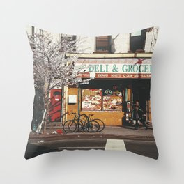 Crown Heights, Brooklyn Throw Pillow
