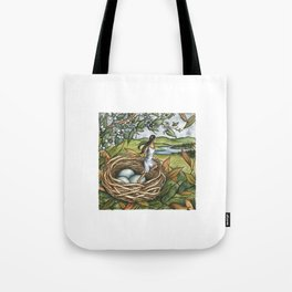 The Hedge Sparrow Elf Tote Bag