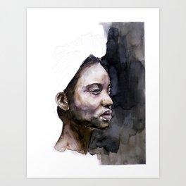 FACE#77 Art Print