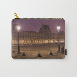 Louvre museum at night Carry-All Pouch