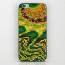 flowerpower iPhone Skin