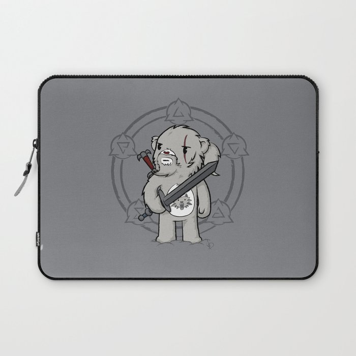 Bearalt of Rivia Laptop Sleeve