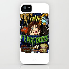 Fear Foods: The Movie iPhone Case
