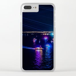 Sydney Vivid Clear iPhone Case