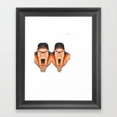 two women 2 Framed Art Print