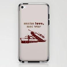 Make love, not war! iPhone & iPod Skin