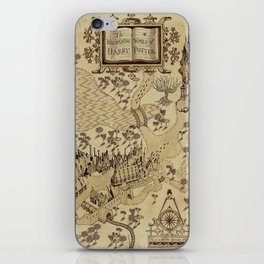 The Wizard world of Hogwarts iPhone Skin