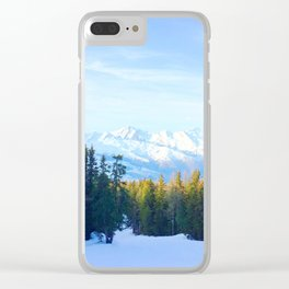 121. Pine and Mountain View, France Clear iPhone Case