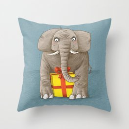 trunk or gift Throw Pillow