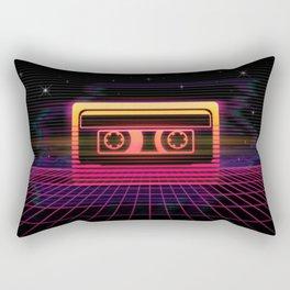 Sunset Cassette Rectangular Pillow
