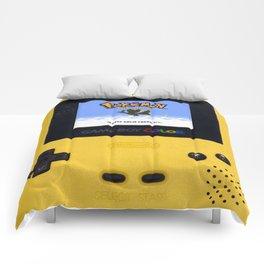 The Yellow Gameboy Comforters