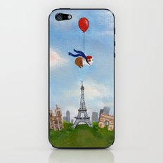 Guinea Pig Over Paris iPhone & iPod Skin