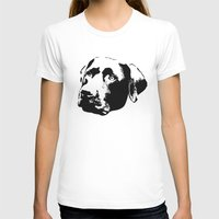 lab T-shirts featuring Chocolate Lab by MIX INX