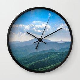 Amazing Blue-Ridge Wall Clock