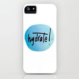 Watercolour Self-Love Reminder iPhone Case