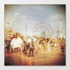Coney Island #2 Canvas Print