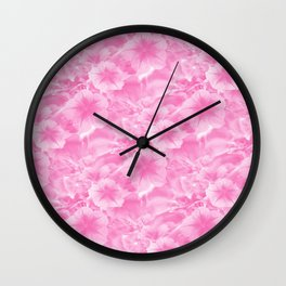 Lovely in Pink..... Wall Clock
