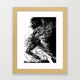 The Explosion Framed Art Print