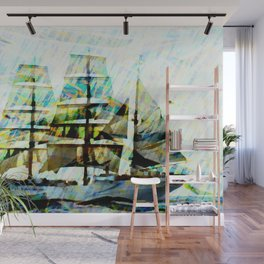 Coast Guards sailship Wall Mural