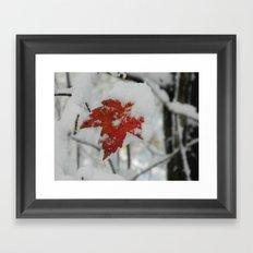The Last of Autumn 4 Framed Art Print