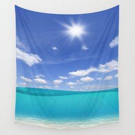 Sunny Sea Wall Tapestry