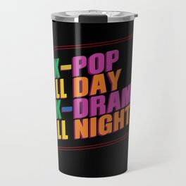 K-pop And K-drama Travel Mug