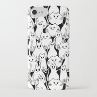 army iPhone & iPod Cases featuring Cat Army by From Flora With Love