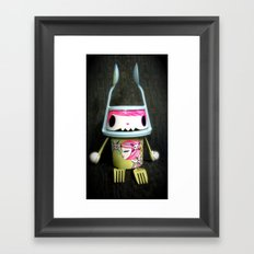 manu Framed Art Print