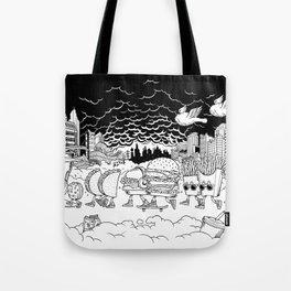 Noah's Spaceship Tote Bag