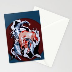 Taurus Asc. Scorpion by carographic Stationery Cards