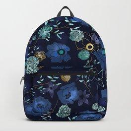 Cindy large floral print Backpack