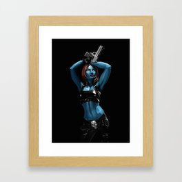 Mystique - Marvel Villain Series Framed Art Print