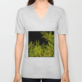 The leaves and berries. Unisex V-Neck