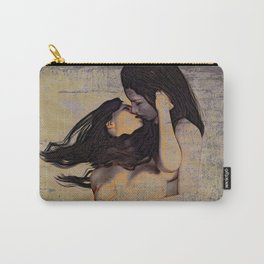Women Kissing Carry-All Pouch