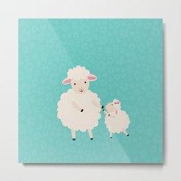 Sheep Series [SS 02] Metal Print