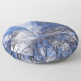 Reaching for the clouds Floor Pillow