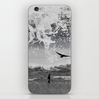 waterfall iPhone & iPod Skins featuring WaterFall by Sergio Varanitsa