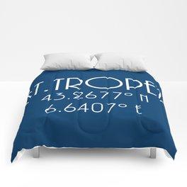 St. Tropez Latitude Longitude Comforters