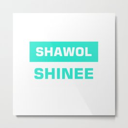 shawol shinee Metal Print