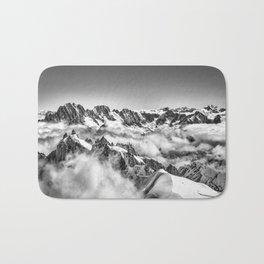 View from Mont Blanc Tramway looking toward Matterhorn Bath Mat