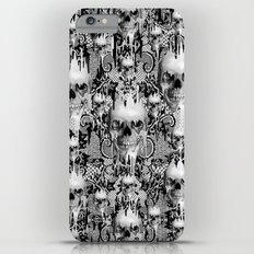 Victorian gothic lace skull pattern Slim Case iPhone 6 Plus