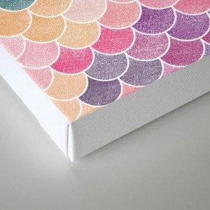Lovely Pattern (Glitter Version) Canvas Print